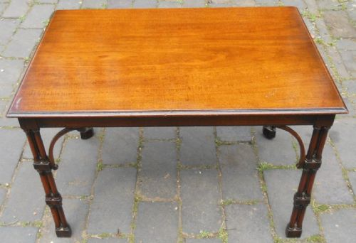 Chippendale Style Mahogany Rectangular Coffee Table